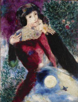 Marc Chagall-Les Amoureux-1928