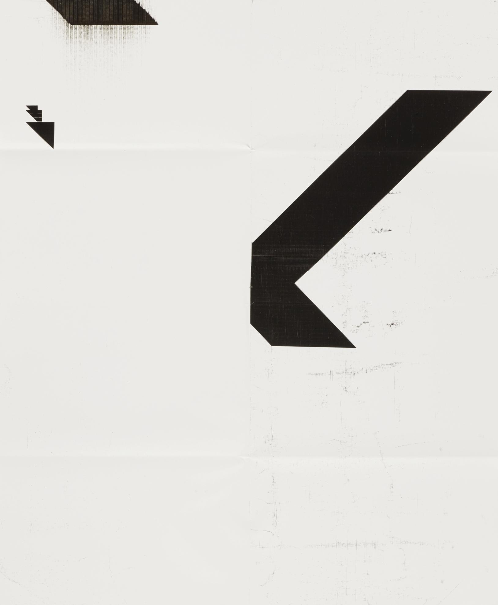 Wade Guyton-X Poster (Untitled, 2008, Epson Uiltrachrome Inkjet On Linen, 84 X 69 Inches, Wg2001)-2016