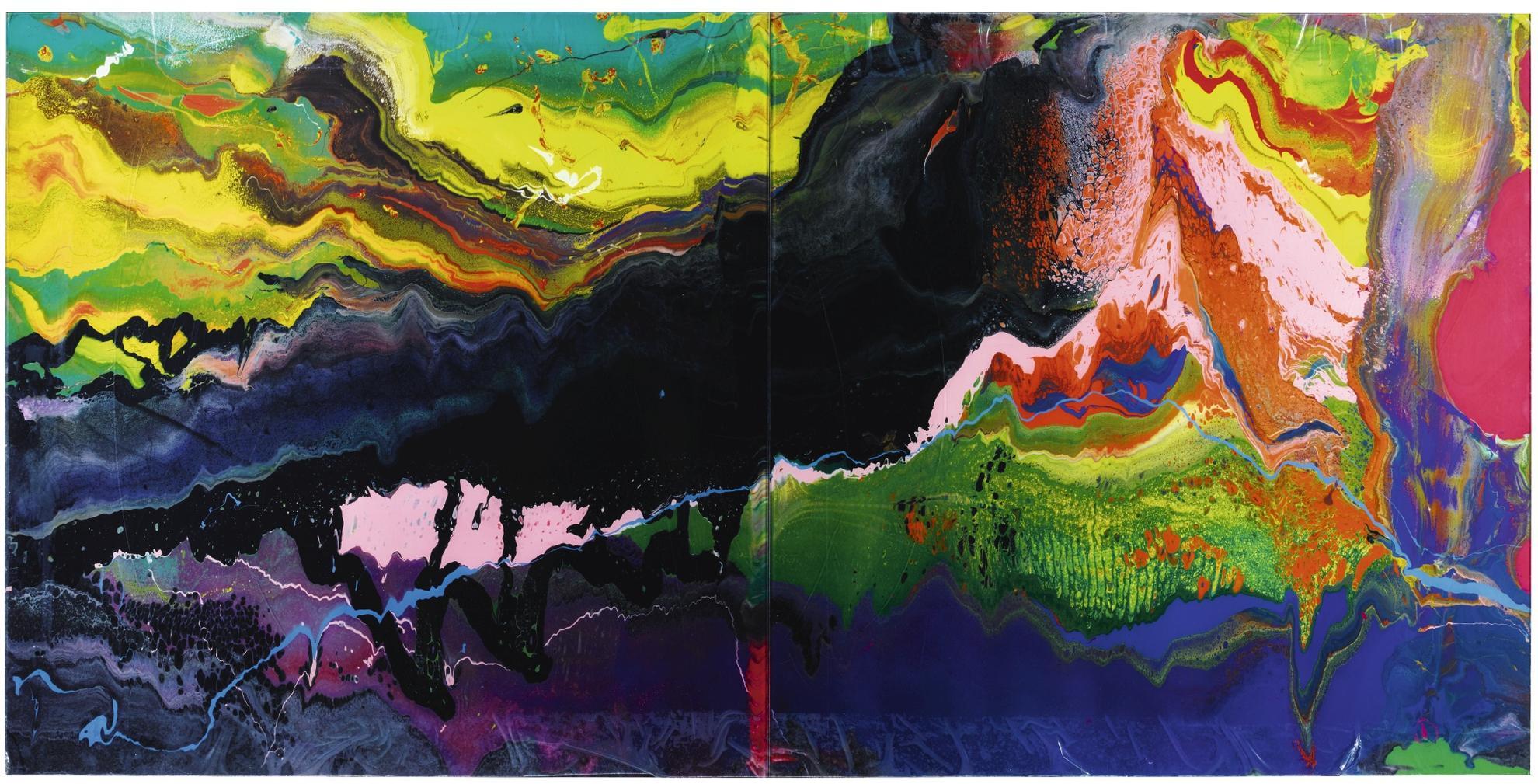 Gerhard Richter-Flow (P16)-2016