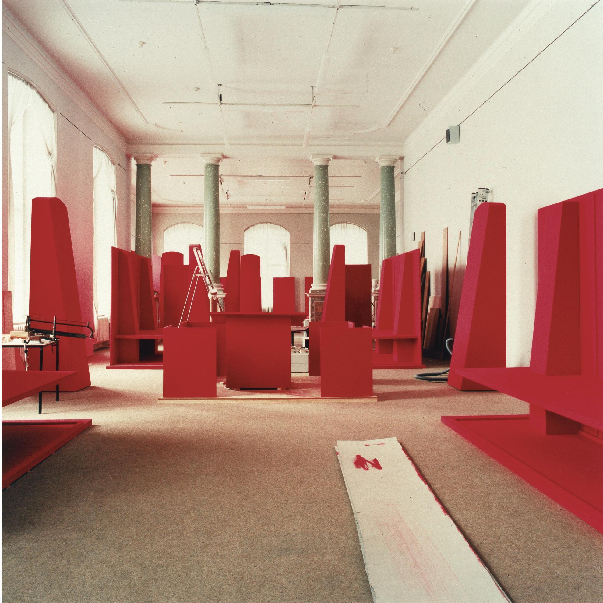 Candida Hofer-Museum Fur Volkerkunde Dresden III-1999