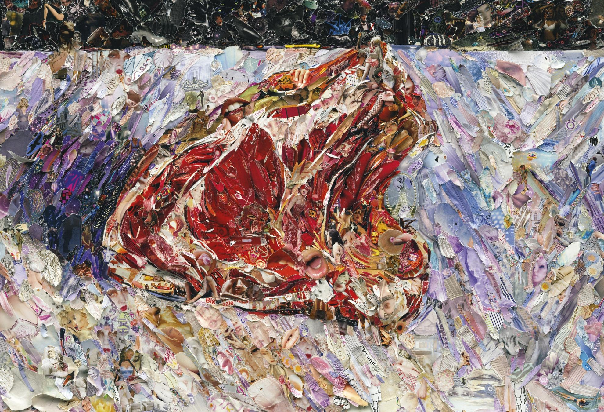 Vik Muniz-Pictures Of Magazine 2: Rib Of Beef After Gustave Caillebotte-2012