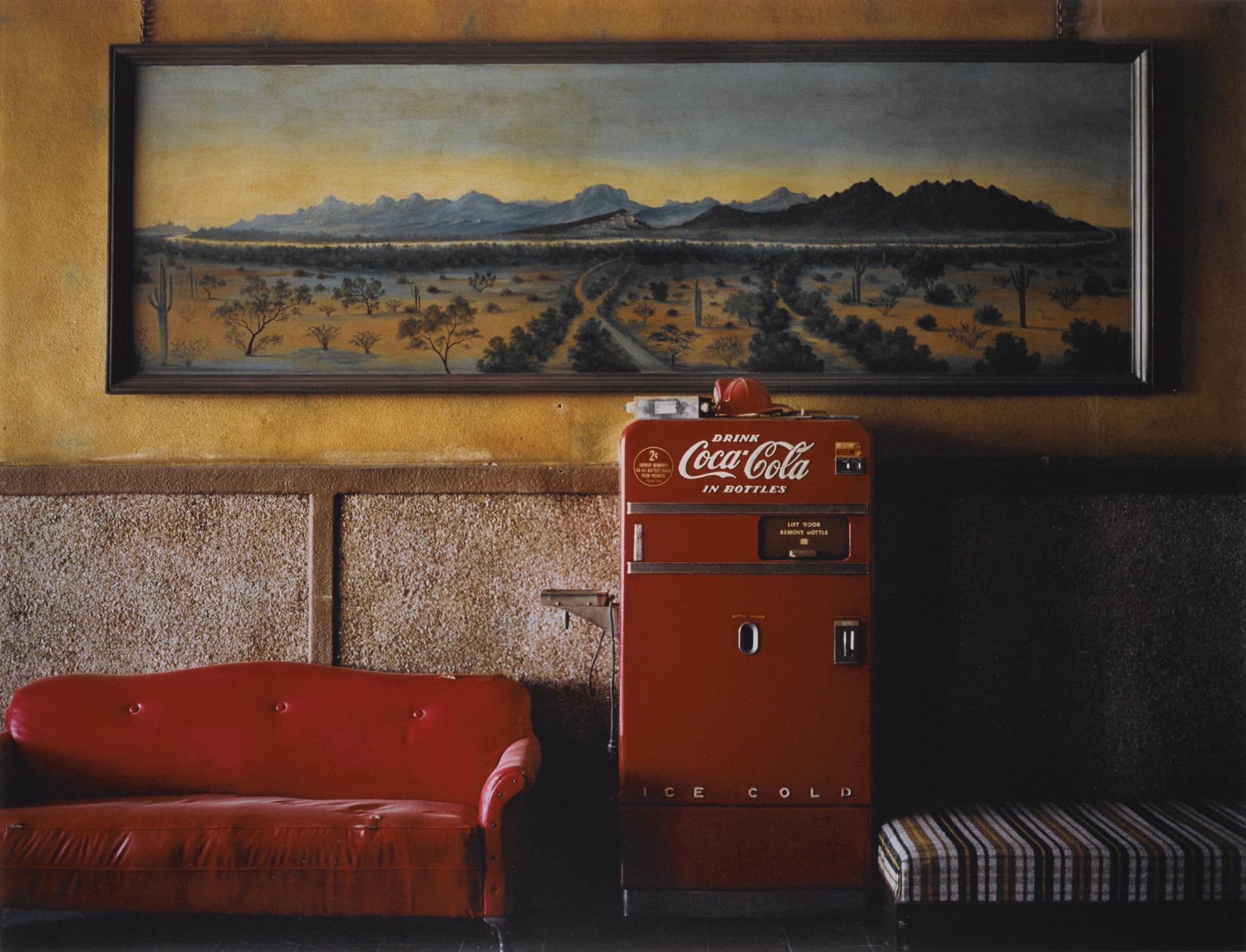 Wim Wenders-Lounge Painting #1 Gila Bend, Arizona-1983