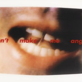 Barbara Kruger-Dont Make Me Angry-1999