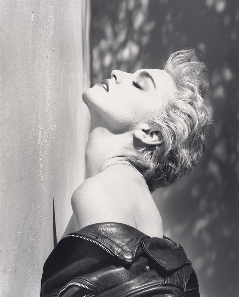 Herb Ritts-Madonna, True Blue, Hollywood-1986