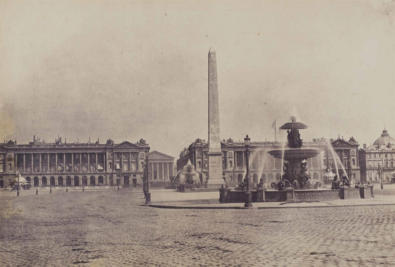 Edouard Baldus-Place De La Concorde-1852