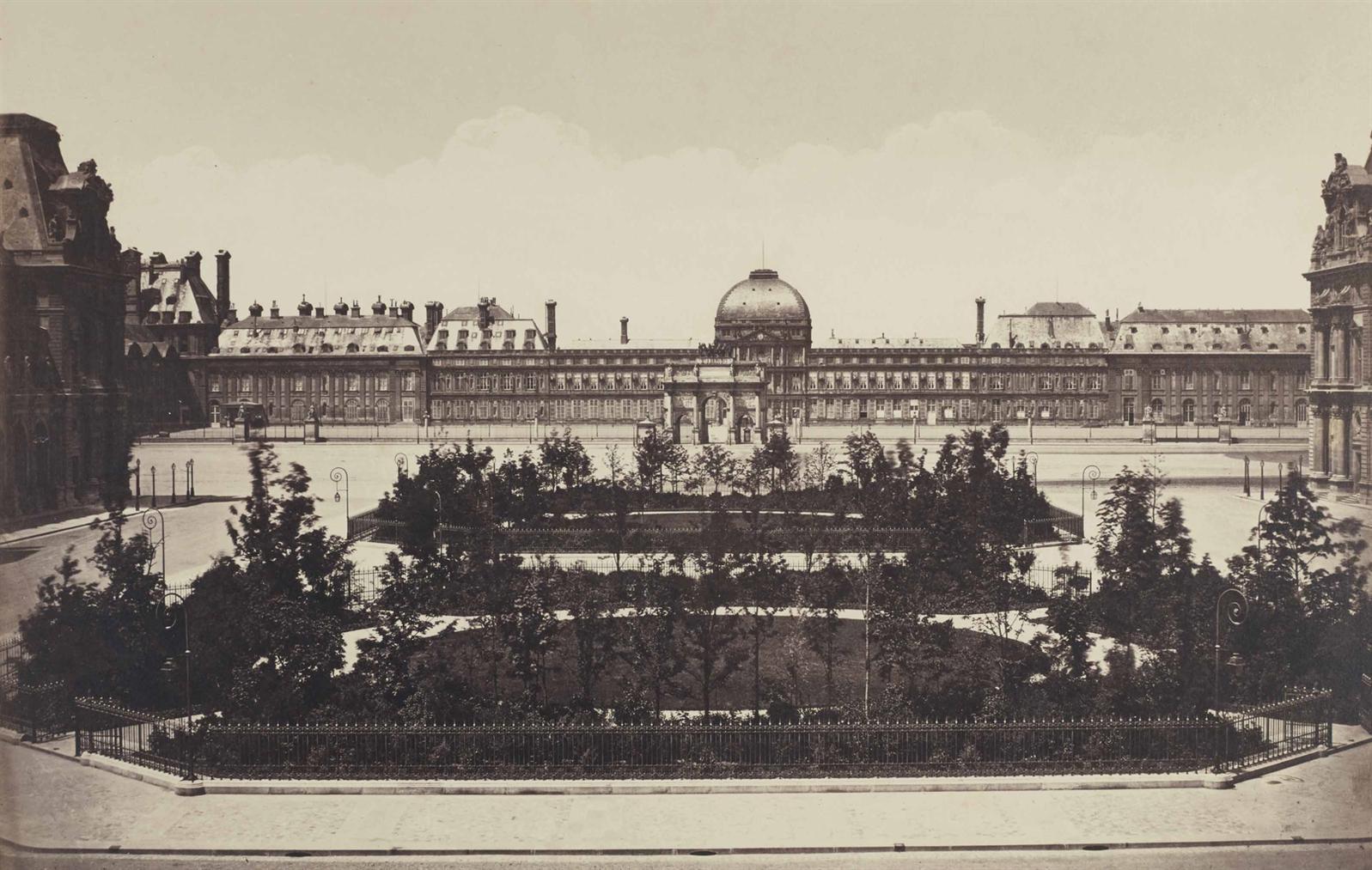 Edouard Baldus-Les Tuileries-1855