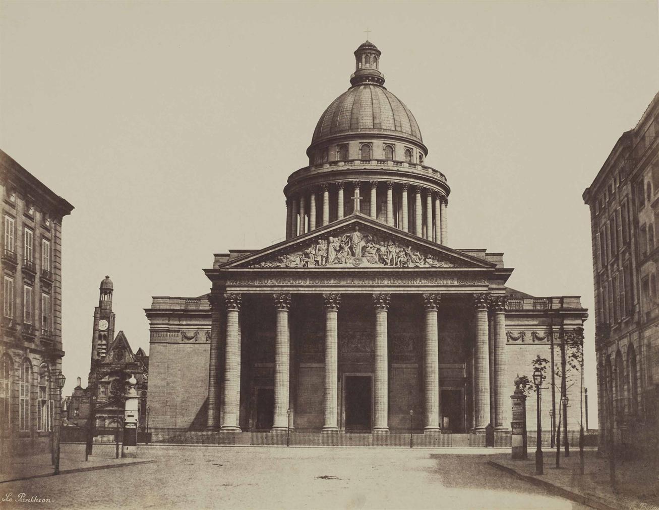 Edouard Baldus-Le Pantheon-1853