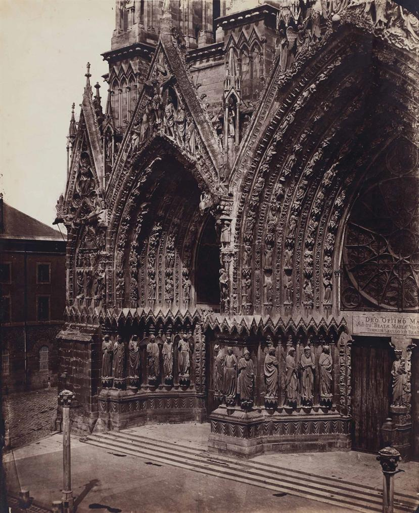Bisson Freres-Cathedrale De Reims-1860