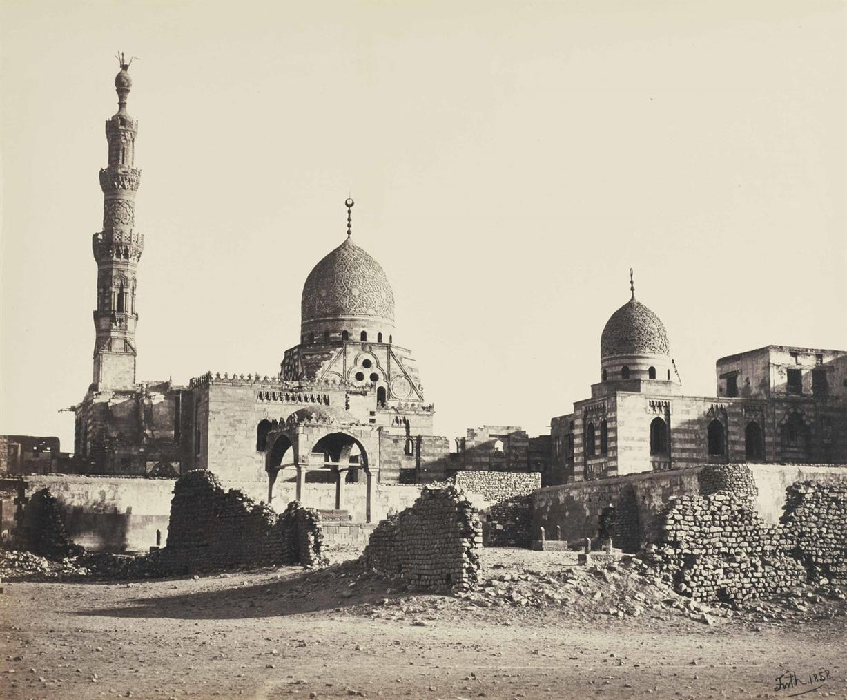 Frances Frith-Mosque Of Sultan Quait-Bey-1858