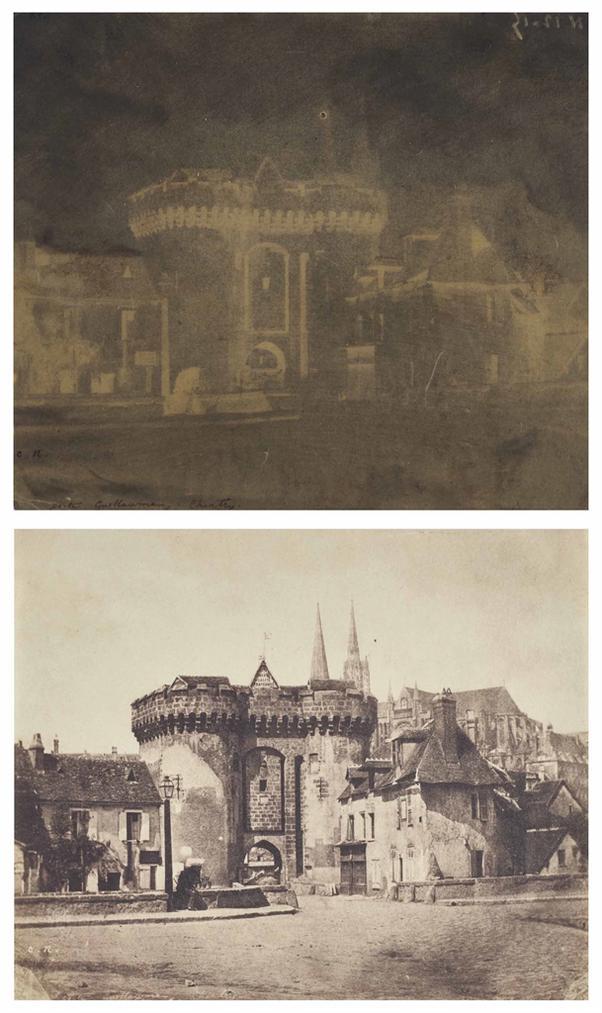 Charles Negre-Porte Saint-Guillaume, Chartres-1851