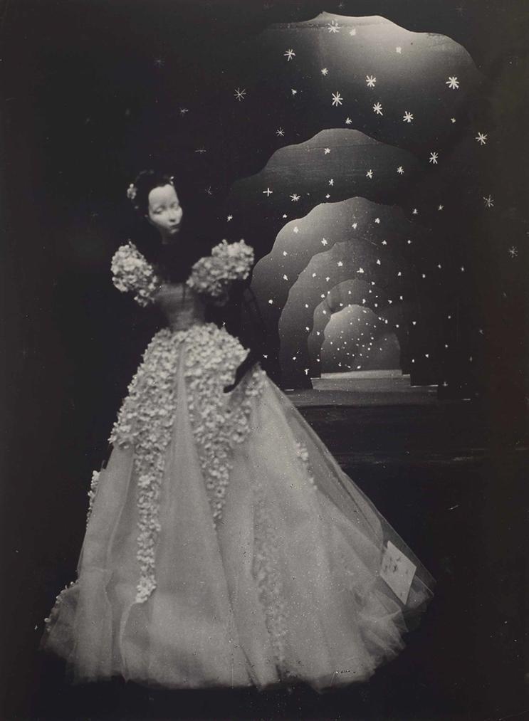 Brassai-Scene De Christian Berard (Detail)-1945