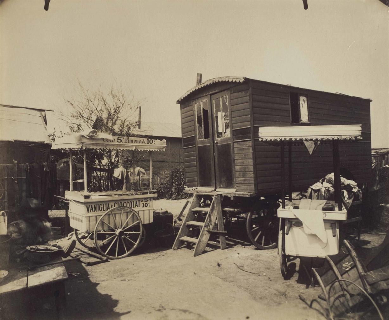 Eugene Atget-Porte De Montreuil, Zoniers-1913