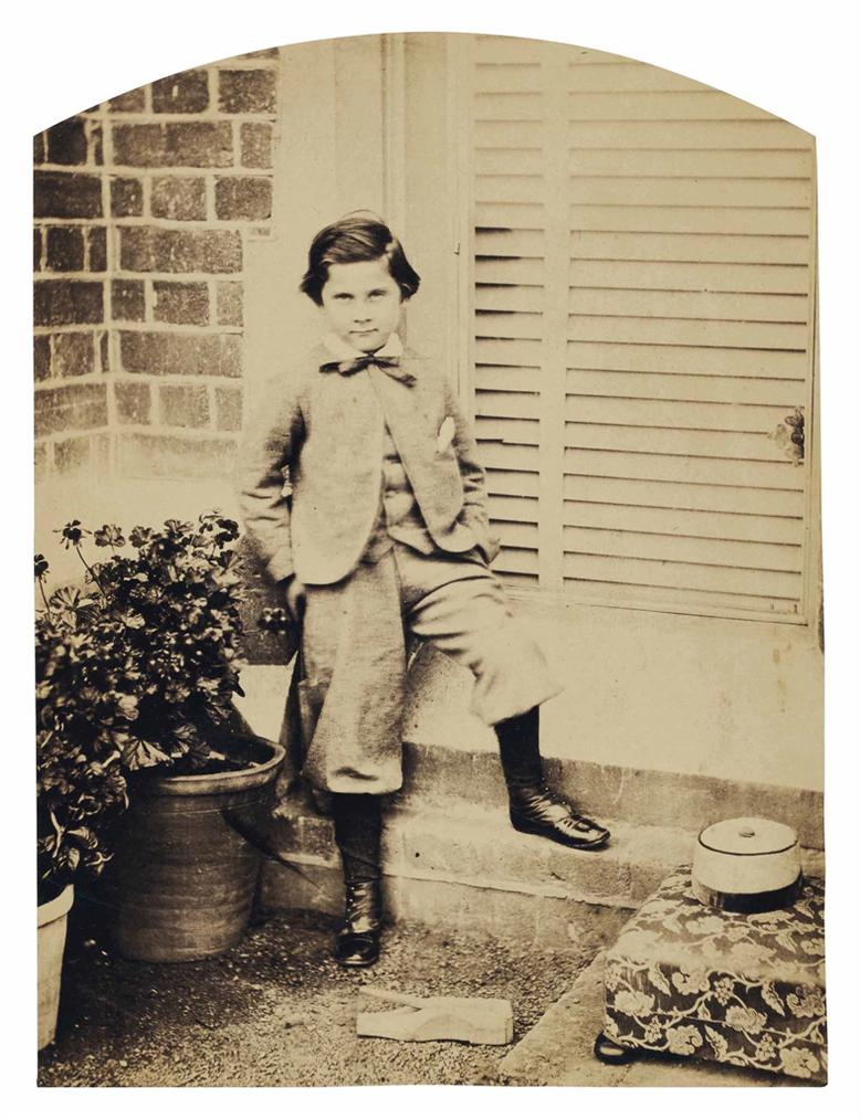 Lewis Carroll [Charles Lutwidge Dodgson] - John Johnnie Henry Joshua Ellison-1862