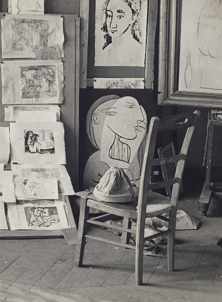 Brassai-Atelier De Picasso-1933