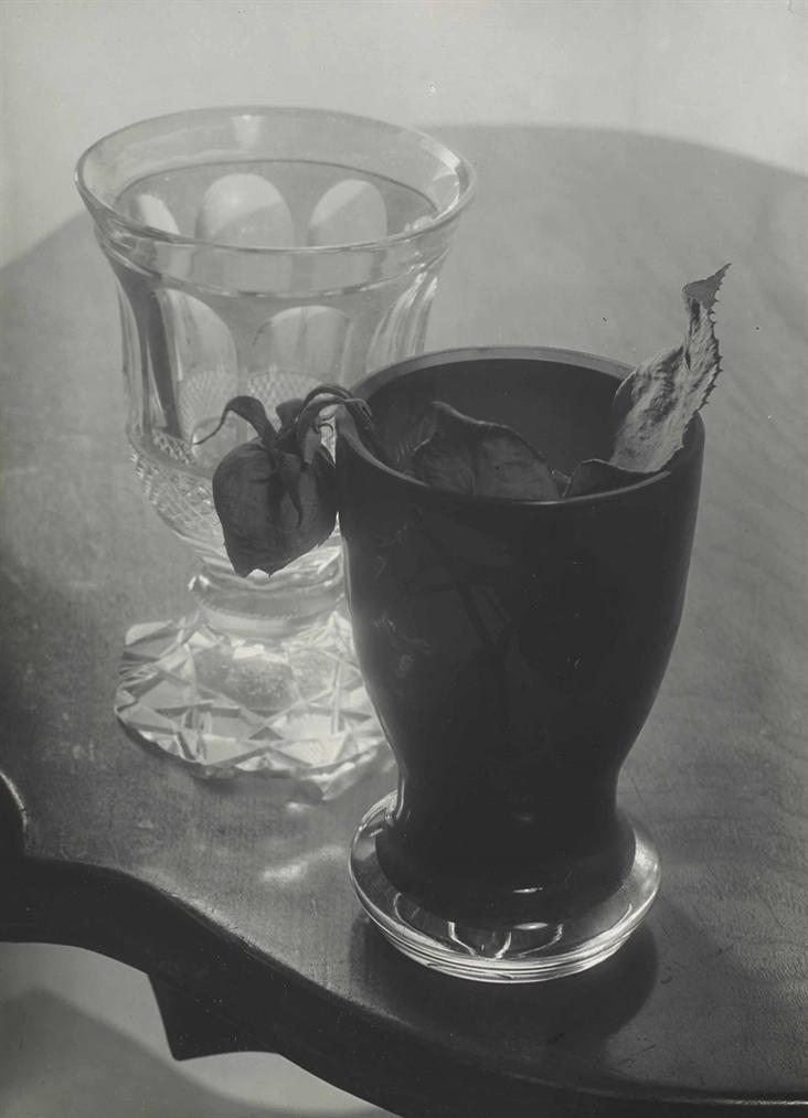 Josef Sudek-Nature Morte Aux Verres-1950