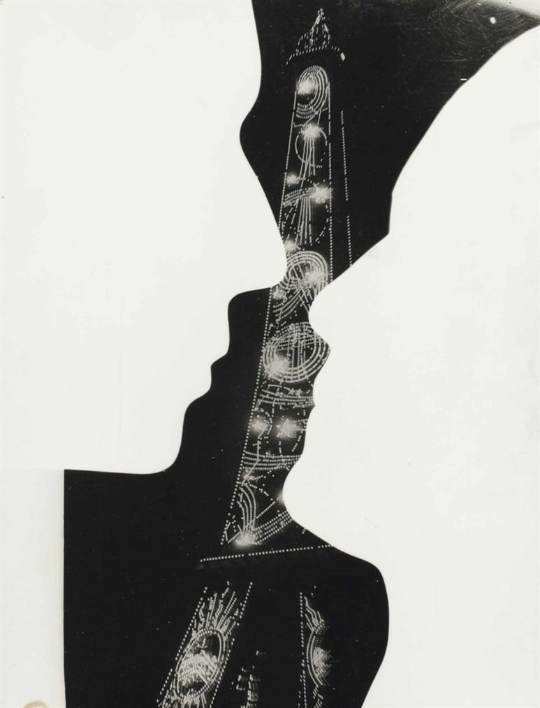 Man Ray-Sans Titre, Rayogramme-1966
