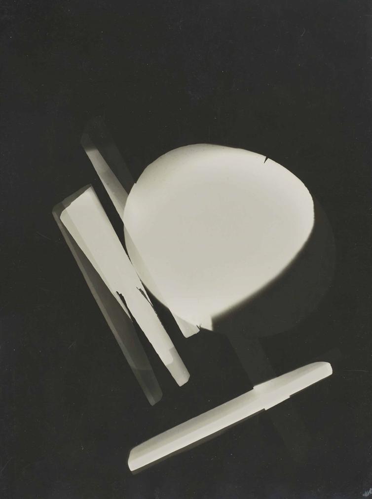 Laszlo Moholy-Nagy-Photogramme, Dessau-1925
