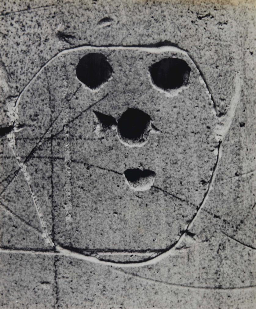 Brassai-Graffiti (Serie Masques Et Visages)-1933