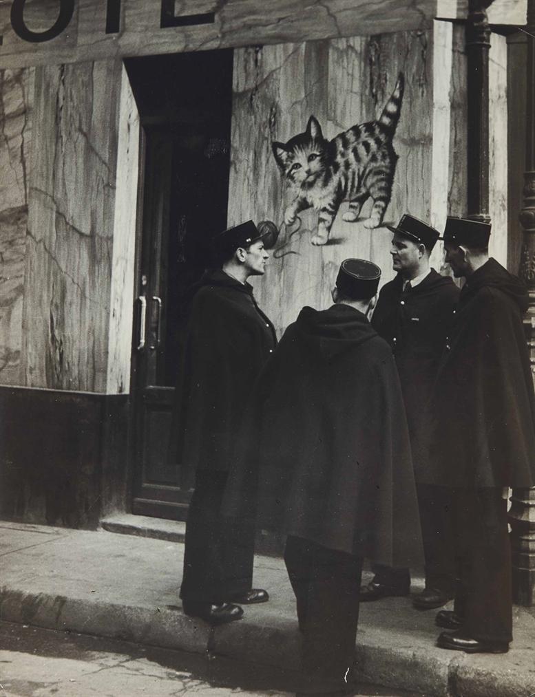 Brassai-Le Chat Qui Pelote-1939