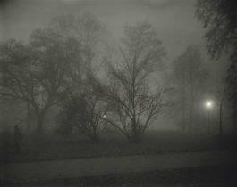 Josef Sudek-Prague, Night View-1958