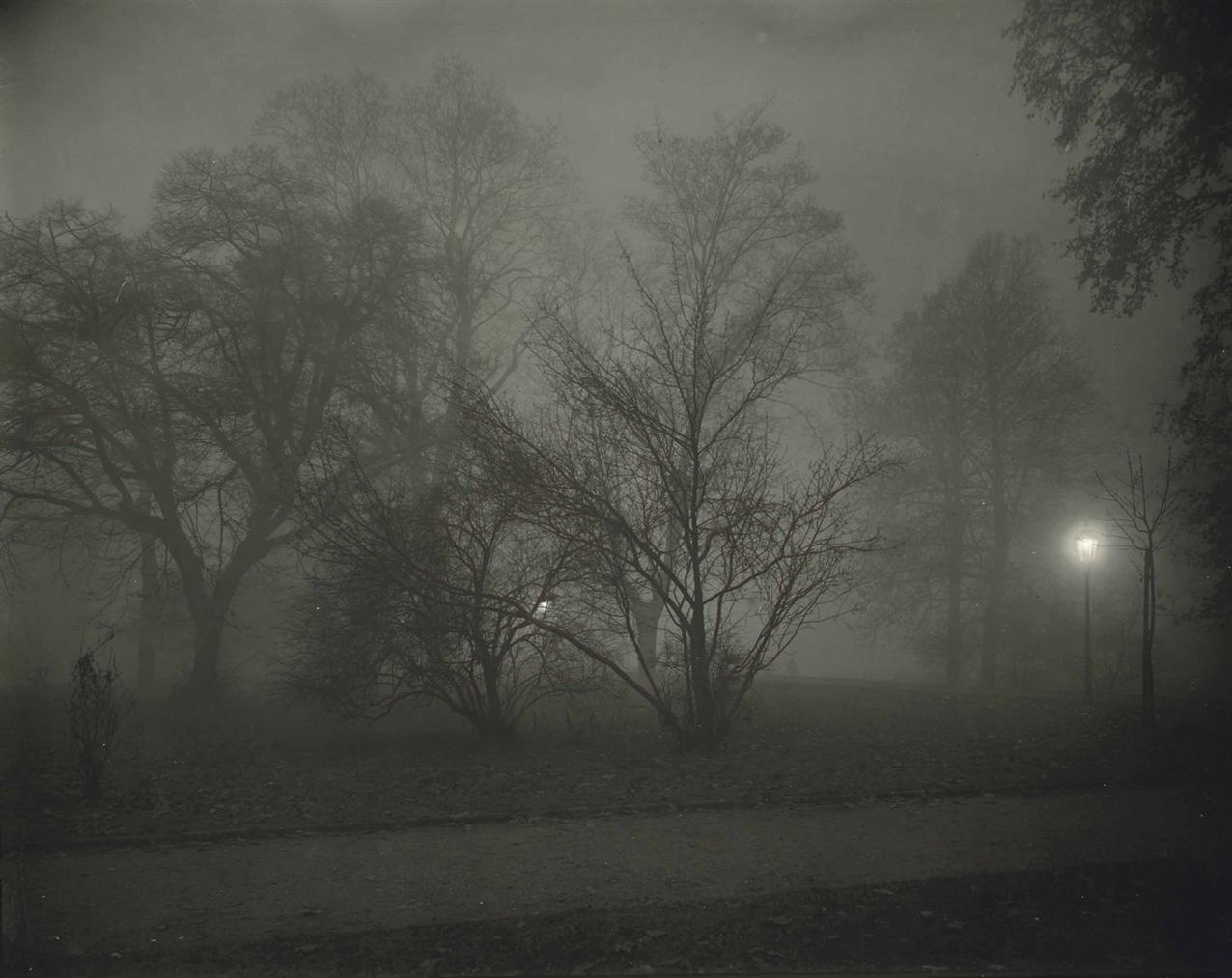 Josef Sudek-Prague, Night View-1958