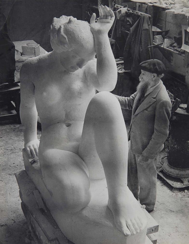 Brassai-La Montagne Et Aristide Maillol-1936