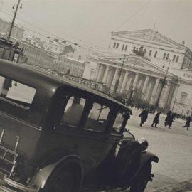 Alexander Rodchenko-Winter, Teatrainaia Square-1931