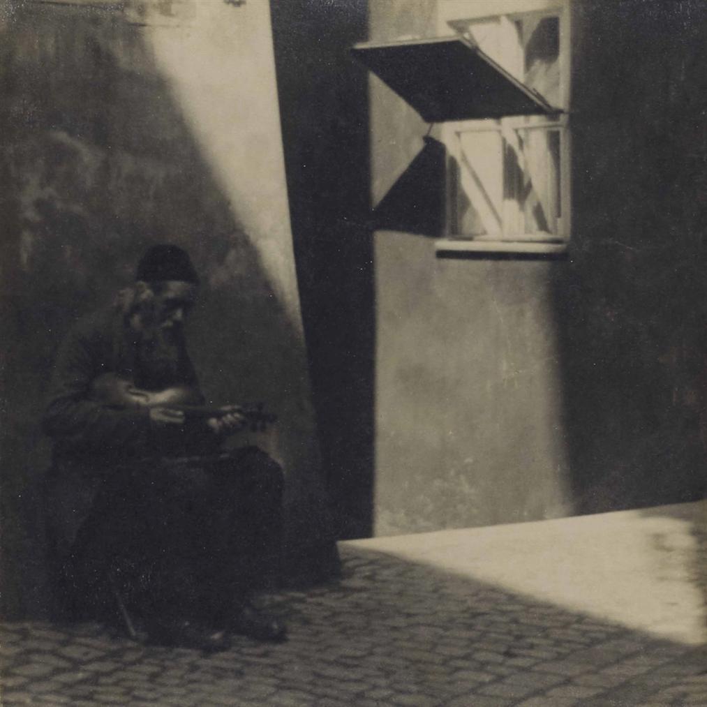 Jaromir Funke-Sans Titre (Homme Au Violon)-1925