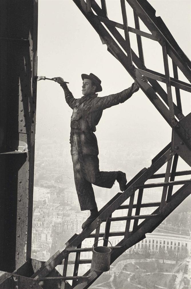 Marc Riboud-Le Peintre De La Tour Eiffel-1953