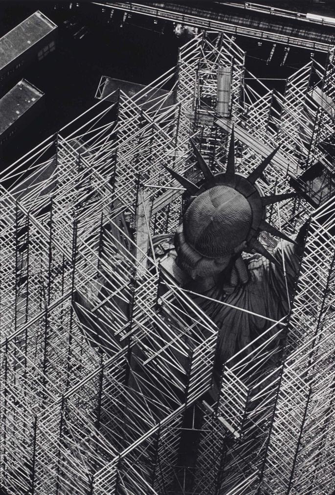 Rene Burri-Statue De La Liberte, New York-1984