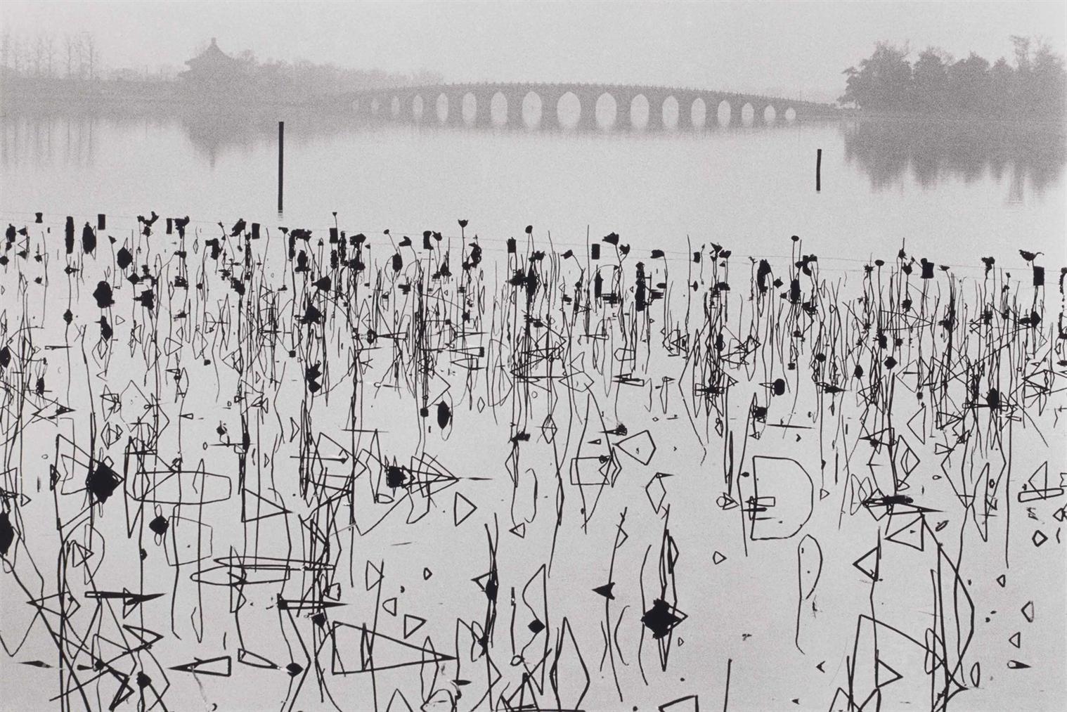 Rene Burri-Lac Kumming, Palais Dete, Beijing, Chine-1964