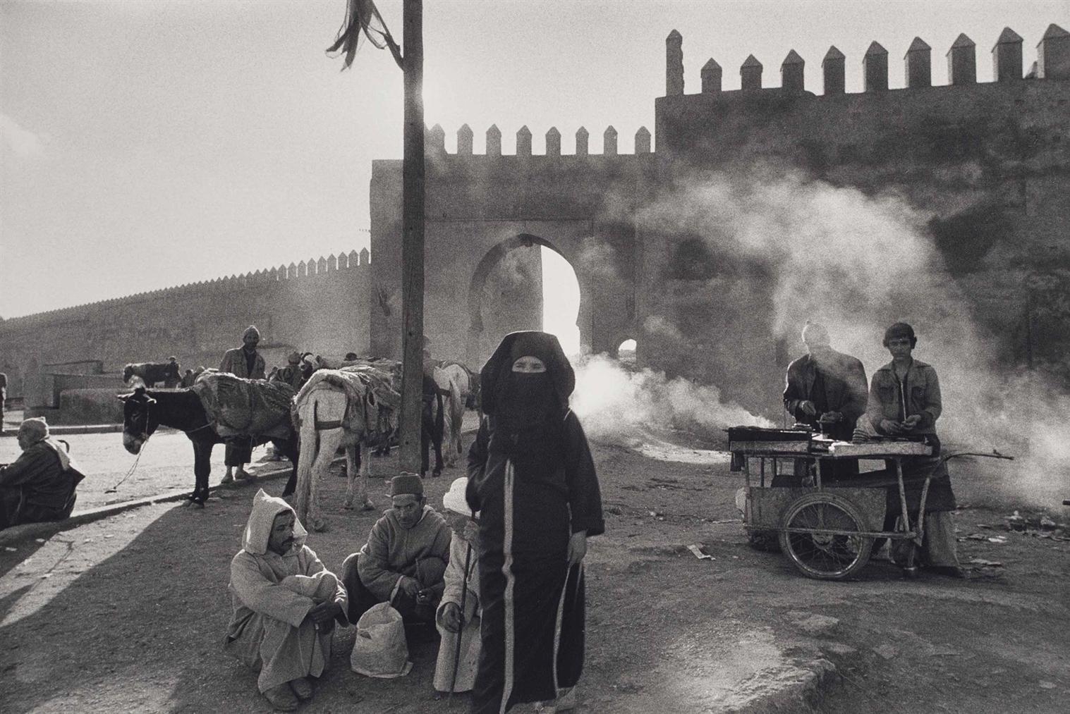 Marc Riboud-Fez, Maroc-1970