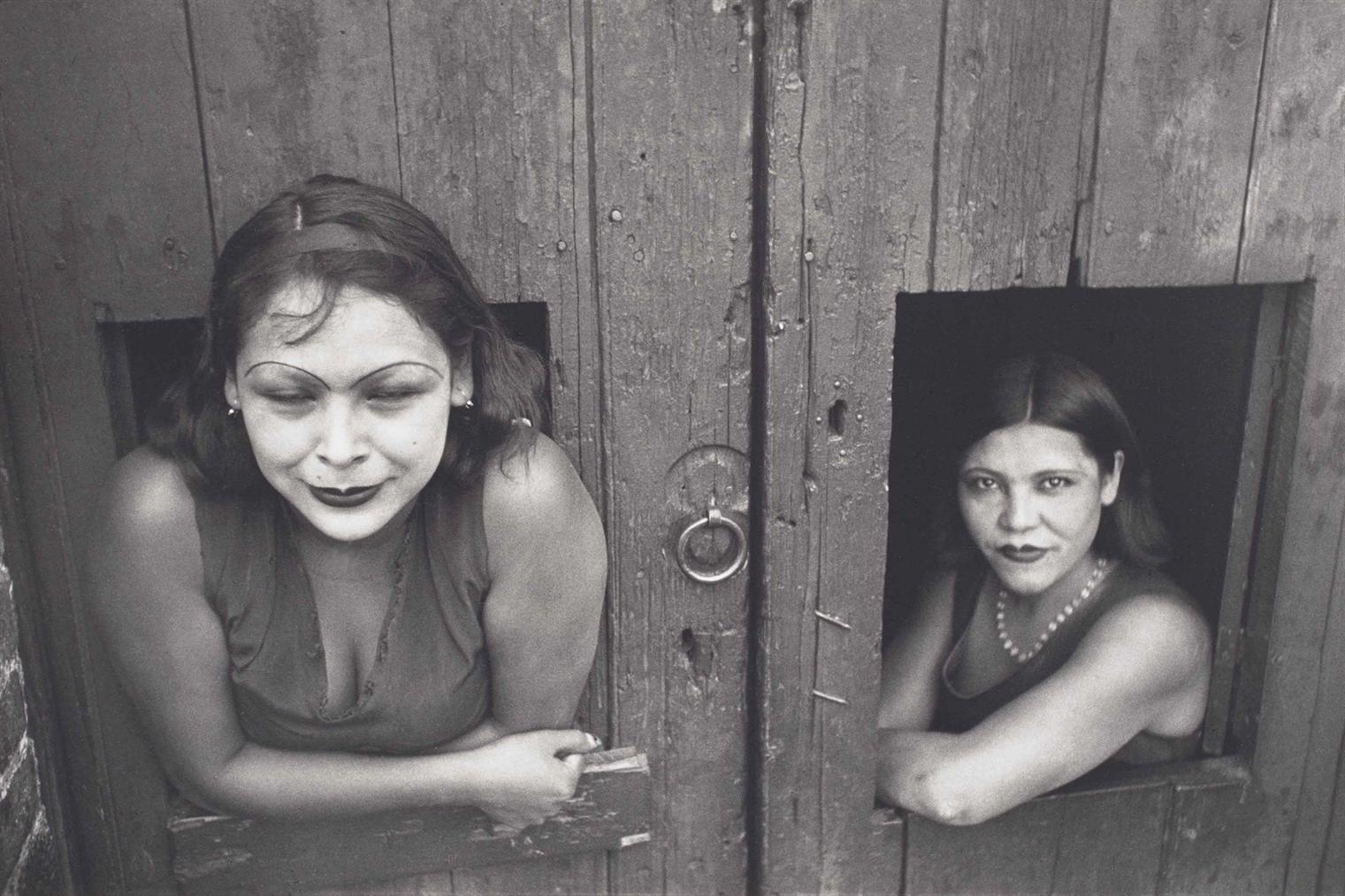 Henri Cartier-Bresson-Calle Cuauhtemoctzin, Mexico City, Mexique-1934