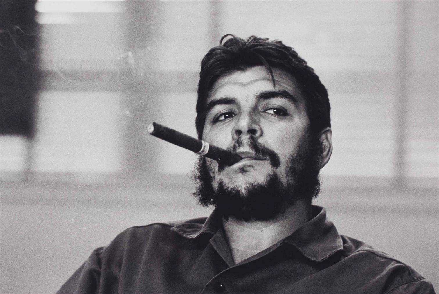 Rene Burri-Ernesto Che Guevara, Havana Cuba-1963