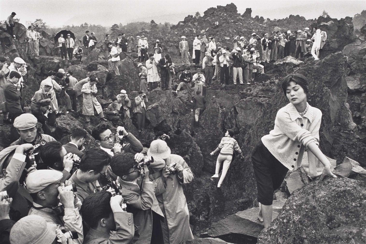 Marc Riboud-Rally De Photographes, Kariuzawa, Japon-1958