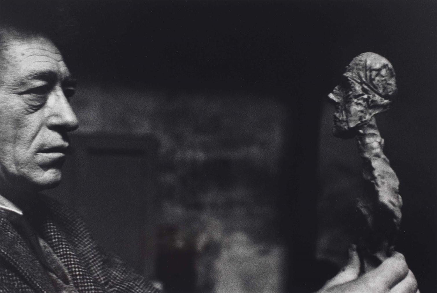 Rene Burri-Alberto Giacometti, Paris-1960