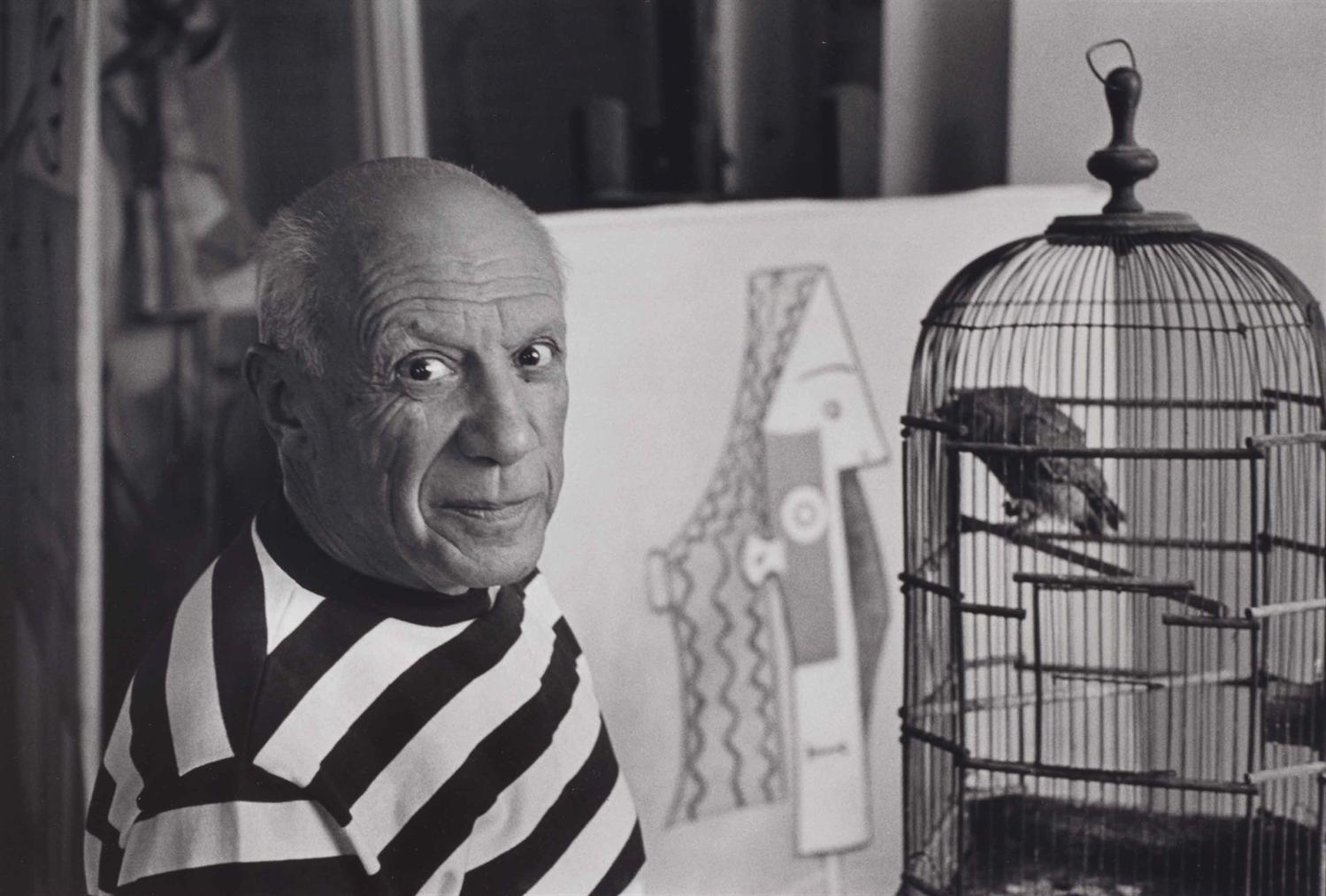 Rene Burri-Pablo Picasso, Villa ' Californie', Le Cannet, France-1957