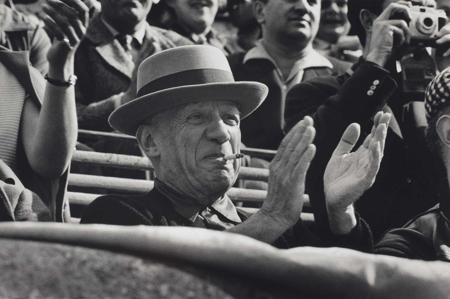 Rene Burri-Pablo Picasso, Nimes France-1957