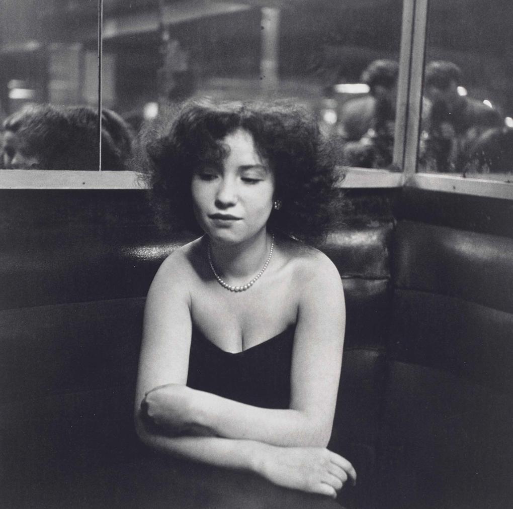 Robert Doisneau-Mademoiselle Anita-1951