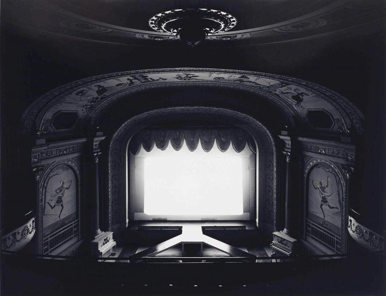 Hiroshi Sugimoto-Cabot Street Cinema, Mass-1978