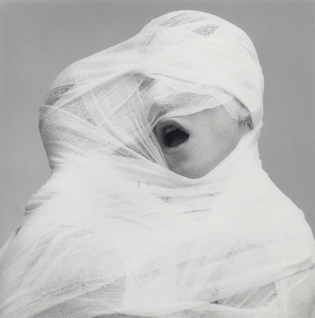 Robert Mapplethorpe-White Gauze-1984