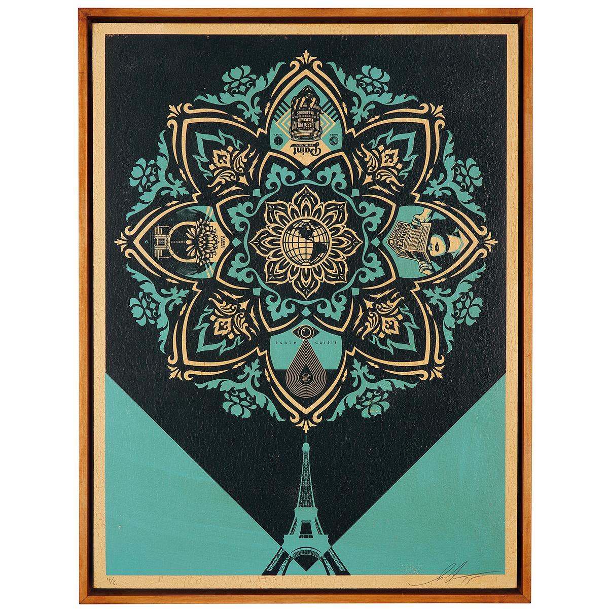 Shepard Fairey-A Delicate Balance-2015