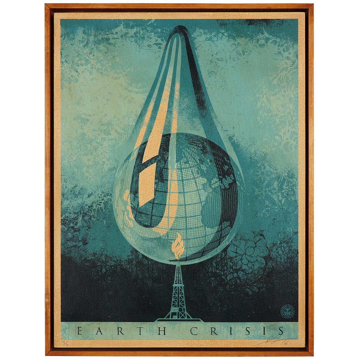Shepard Fairey-Earth Crisis Drop-2016