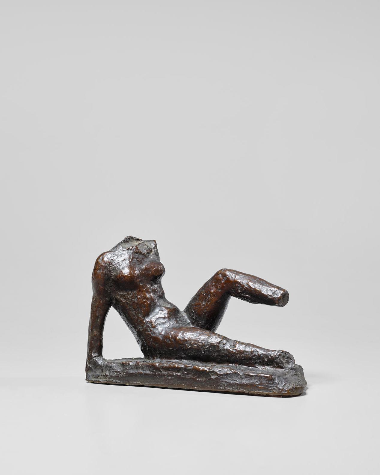 Aristide Maillol-Etude De Mouvement Pour Le Monument A Paul Cezanne-