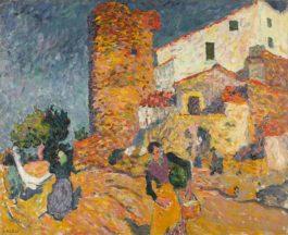 Louis Valtat-Catalogne, Les Taches Quotidiennes Au Mas-1895