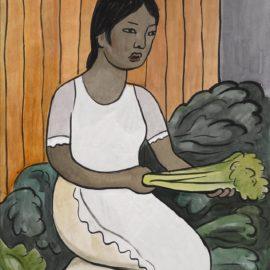 Diego Rivera-Vendedora De Legumbres-1937