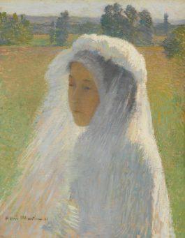 Henri Martin-La Communiante-1891