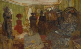 Edouard Vuillard-Le Salon Des Hessels, Rue De Rivoli-1905