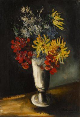 Maurice de Vlaminck-Fleurs Dans Un Vase