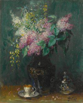 Pierre Eugene Montezin-Le Bouquet De Lilas